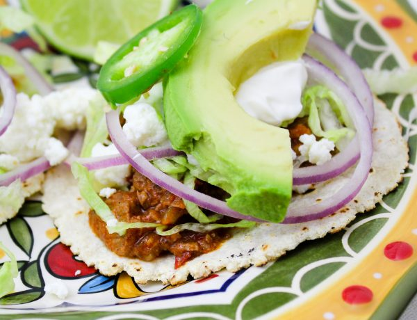 Chorizo & Shredded Beef Tinga